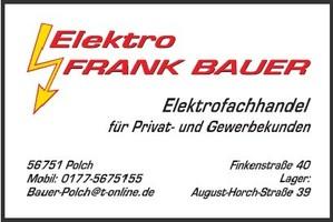 Elektro Frank Bauer, Elektrofachhandel, Polch Elektrohandel Bauer